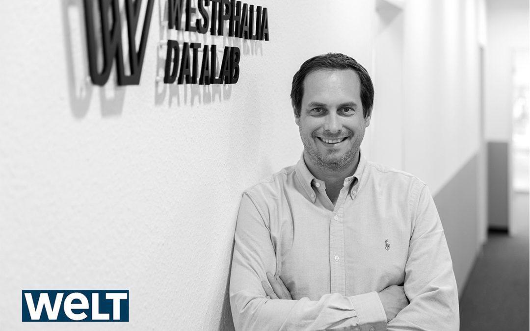 """WELT – """"Perfekt entscheiden"""" – Diese Firma hebt den Datenschatz deutscher Unternehmen"""