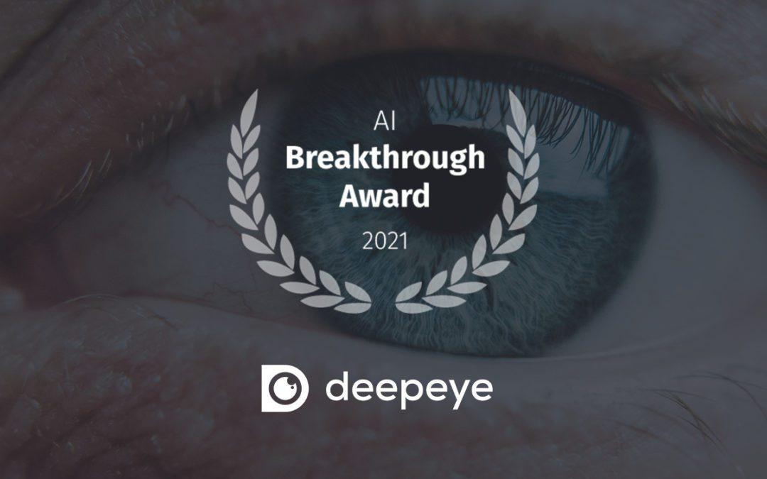 Projekt DeepEye wird mit AI Breakthrough Award ausgezeichnet