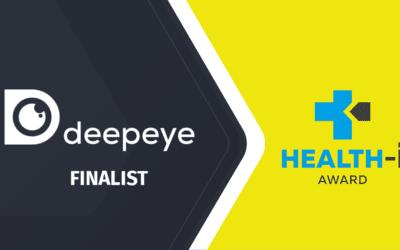 deepeye ist HEALTH-i Award Finalist 2021